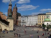 Cracovia - Plaza del Mercado