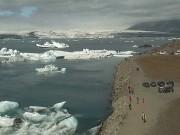 ヨークルスアゥルロゥン - 氷河湖