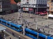 Zagreb - Ban Jelacic Square