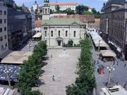 ザグレブ - 広場