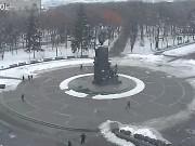 ハリコフ - タラス・シェフチェンコ像