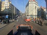 プラハ - 路面電車(車載)