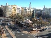 バレンシア - 市庁舎前広場