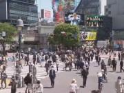 Shibuya - Typhoon HAGIBIS