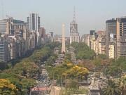 Buenos Aires - 9 de Julio Avenue
