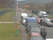 クロシチェンコ - 国境検問所付近