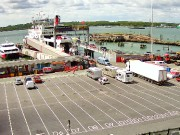 Southampton : Red Funnel Ferry